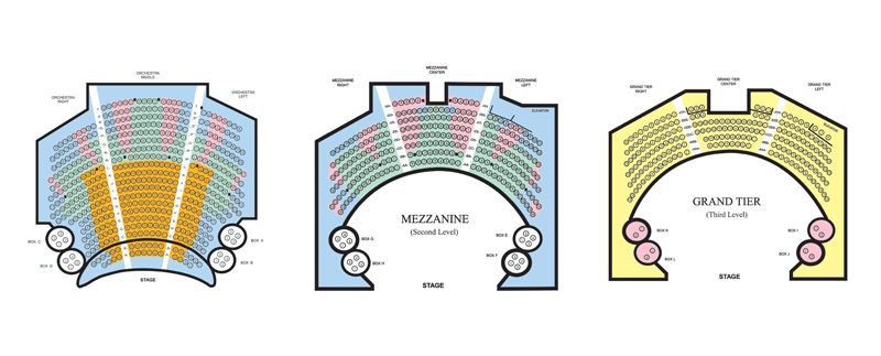 The Grand Seating Chart