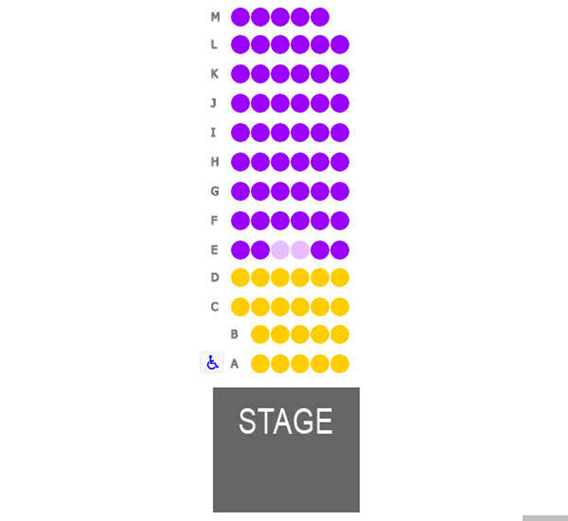 The Kaleidoscope Seating Chart